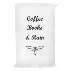 Coffee Books & Rain Towel