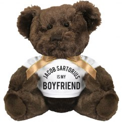 Team Jacob Sartorius Girlfriend Teddy Bear