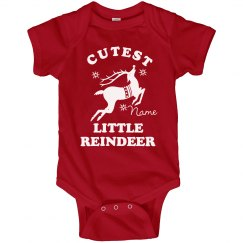 Little Reindeer Onesie