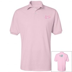 VPH Think Pink men's polo