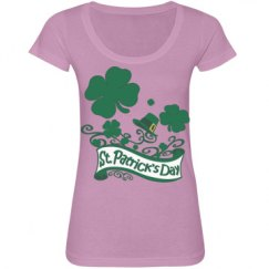 St. Patrick's Day Clovers & Hat