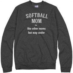 Softball mom way cooler