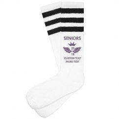 Custom Seniors 2017 Socks