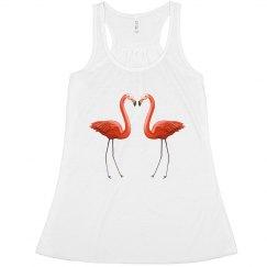 flamingos fashion tank