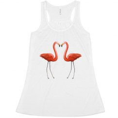 flamingos fashion tank
