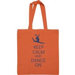 Keep Calm Dance Bag