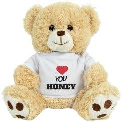 Love you honey