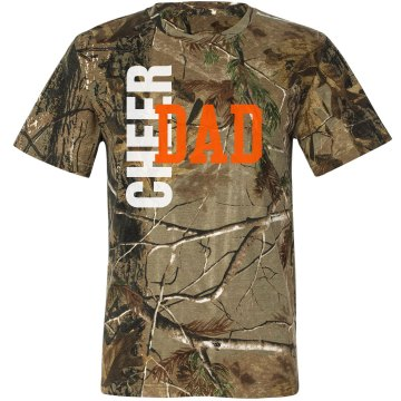 Cheer Dad Bow Season Cactus Barrel T Shirt Designs