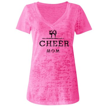 Cheer Mom Shirt Pink