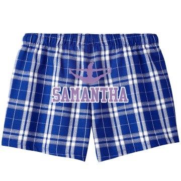 Cheer Pajama Shorts