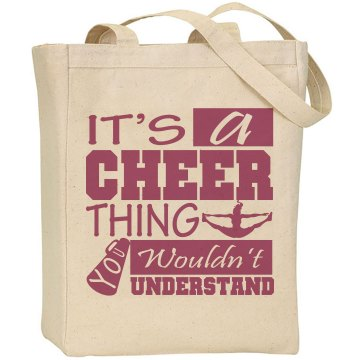 Cheer Thing Tote Bag