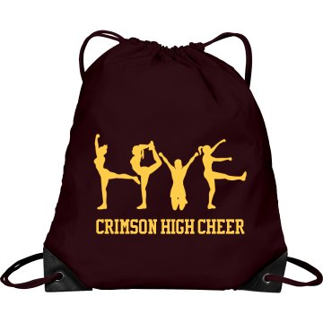 Cheerleading Love Bag