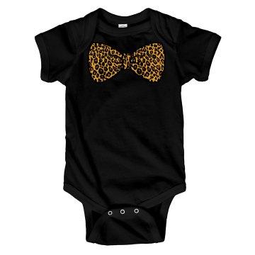 Cheetah Print Bow Tie