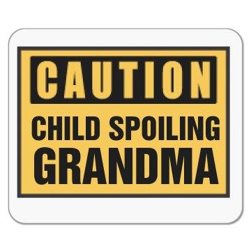Child Spoiling Grandma