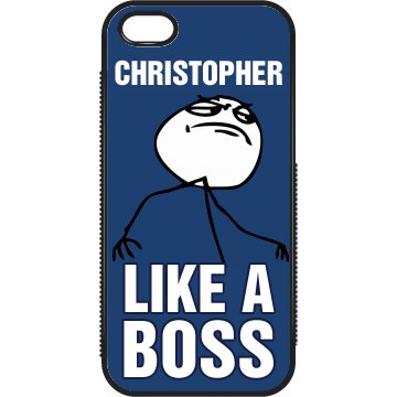 Chris Like a Boss iPhone
