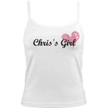Chris's Girl w/Heart