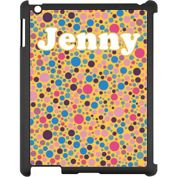 Colored Dots iPad Case