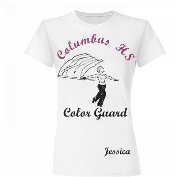 Columbus HS Color Guard