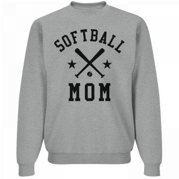 Cozy Softball Mom
