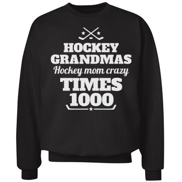 Crazy Hockey Moms and Grandmas