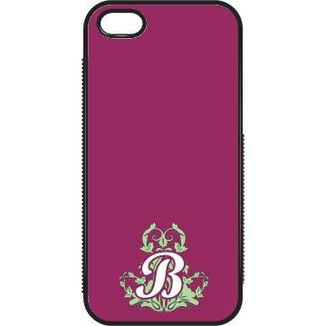 Custom B Monogrammed Case