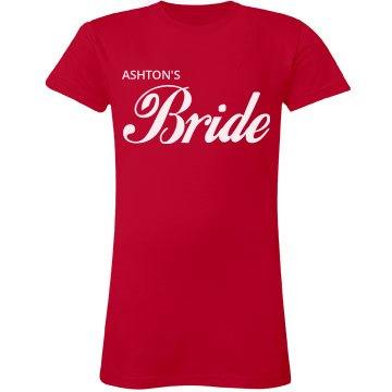 Custom Bride Cola