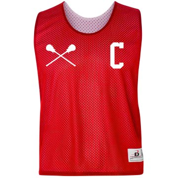 Custom Captain's Jersey Lacrosse Pinnie