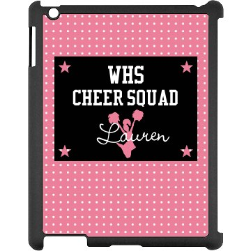 Custom Cheer iPad Case