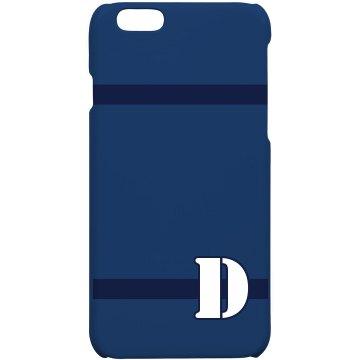 Custom D Monogrammed Case