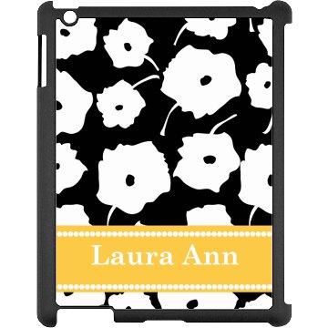 Custom Floral iPad Case