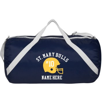 Custom Football Gear Bag