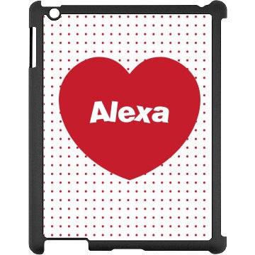 Custom Heart iPad Case