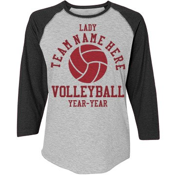 Custom Lady Volleyball Shirts