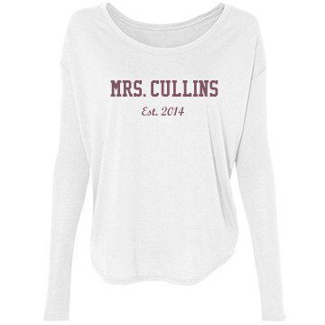 Custom Mrs. Established