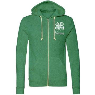 Custom Name St. Patrick's Hoodie