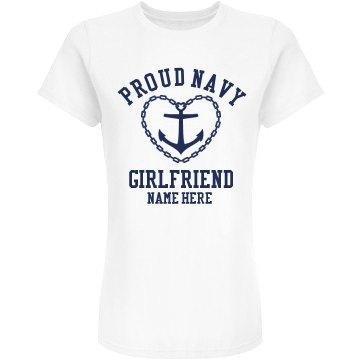 Custom Navy Girlfriend