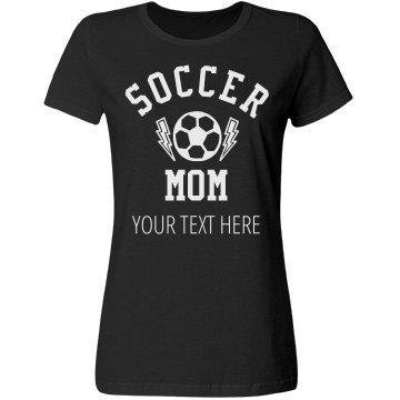 Custom Soccer Mom Design
