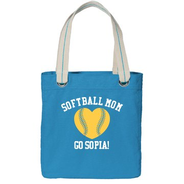 Custom Softball Mom