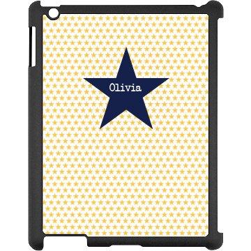 Custom Star iPad Case