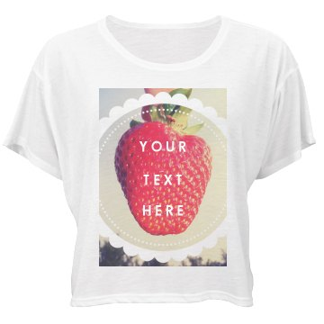 Custom Strawberry Photo
