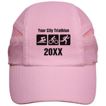 Custom Triathlon Cap