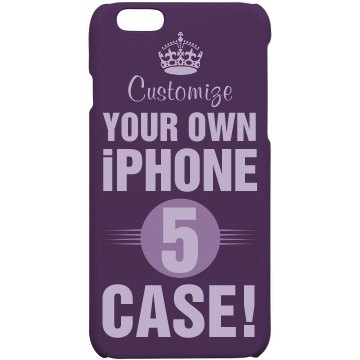 Customize iPhone 5 Cases