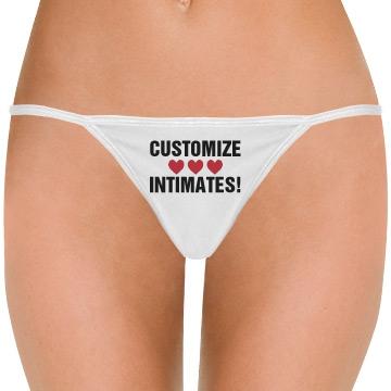 Customize Underwear