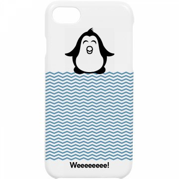 Cute Penguin iPhone Case