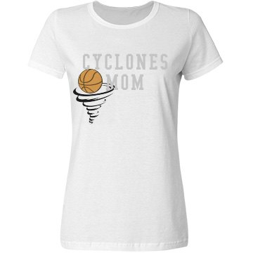 Cyclones Basketball Mom