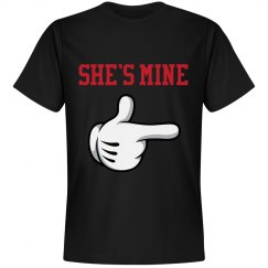 She's Mine Couples Shirt