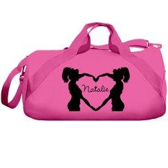 Custom Cheer Bag With Custom Name