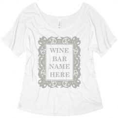 Wine Bar Frame