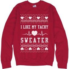 Nurses Like Tachy Ugly Sweaters