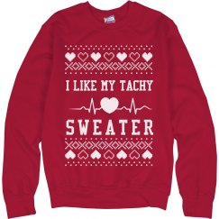 Nurses Like Tachy Ugly Sweaters